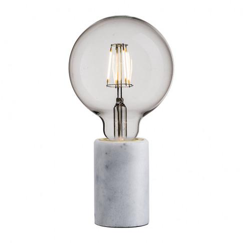 A By Amara - Siv E27 Table Lamp - Small - White