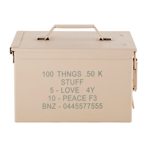 Diesel Living With Seletti - Peace Bullet Storage Box