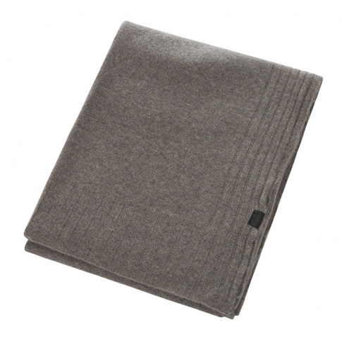 Zoeppritz Since 1828 - Hot Cashmere Throw - 110x150cm - Smoke