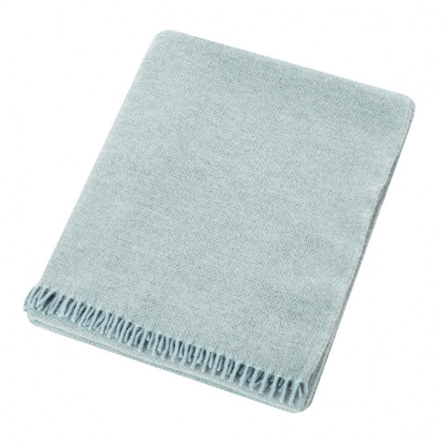Zoeppritz Since 1828 - Must Relax Virgin Wool Blanket - 130x190cm - Powder Blue