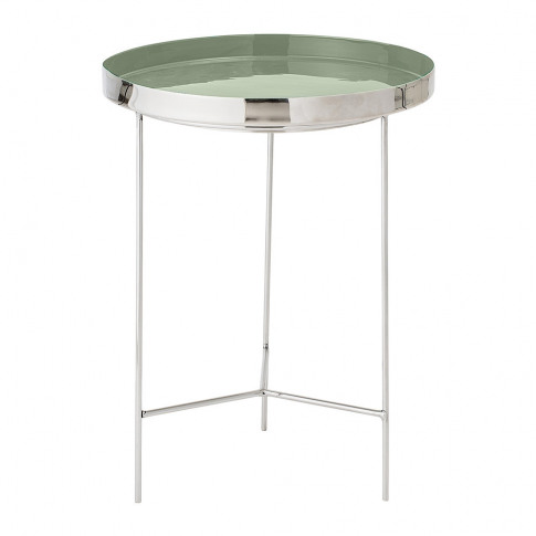 Bloomingville - Round Aluminum Tray Table - Large - ...