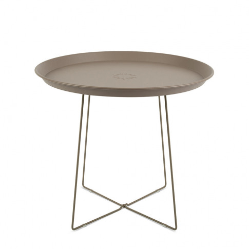 Fatboy - Plat-O Side Table With Removable Tray - Taupe