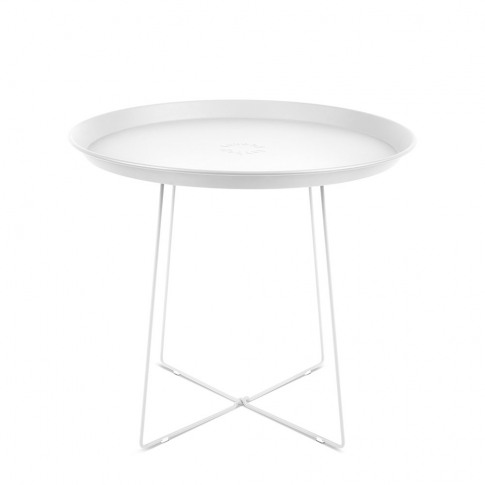 Fatboy - Plat-O Side Table With Removable Tray - White