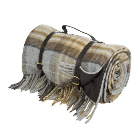 Tweedmill - Pure New Wool Polo Picnic Rug - Mckellar...