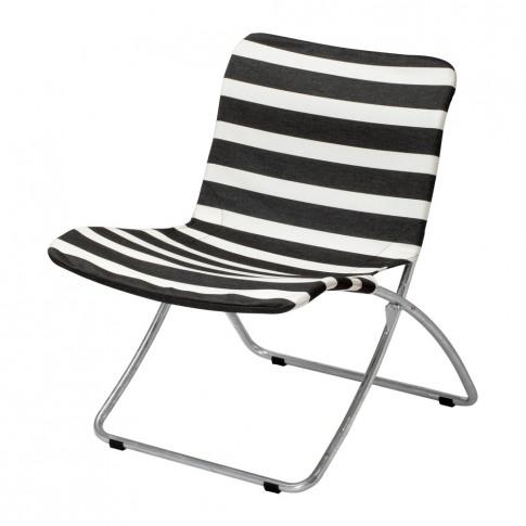 Skagerak - Lise Garden Chair - Black Stripes