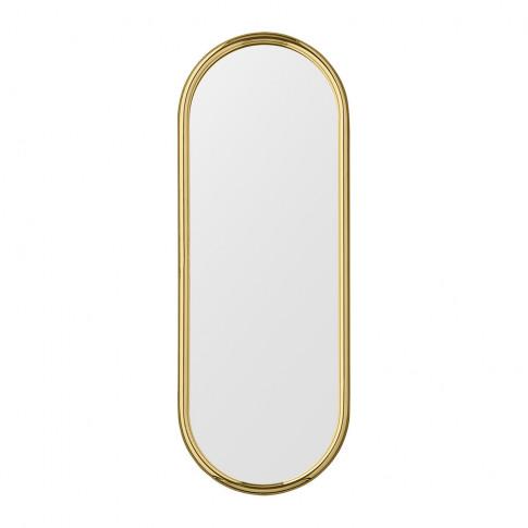 Aytm - Angui Oval Mirror - 29x78cm - Gold