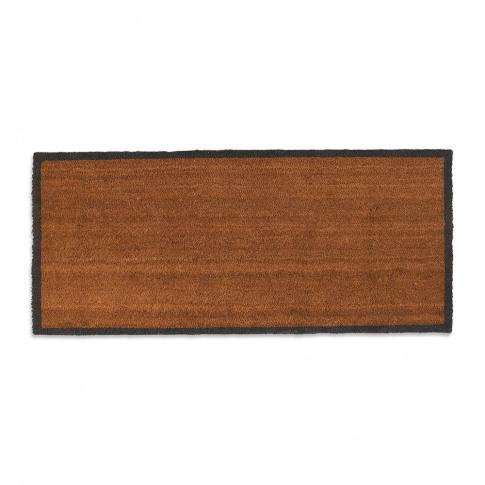 Garden Trading - Double Coir Doormat With Charcoal B...