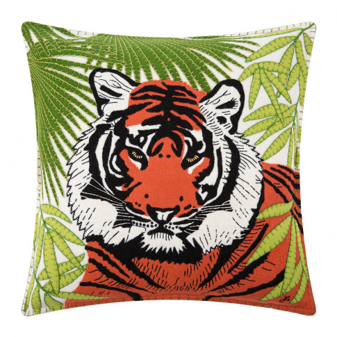 Jan Constantine - Paradise Tiger Cushion - 46x46cm