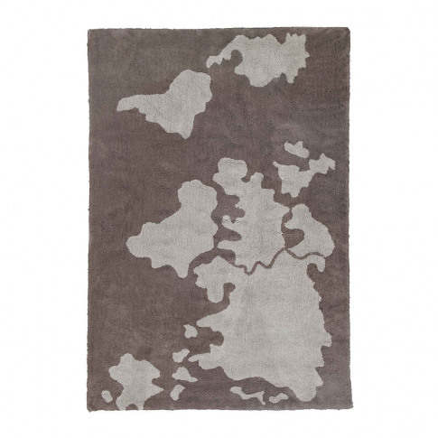 Lorena Canals - World Map Washable Rug - 140x200cm