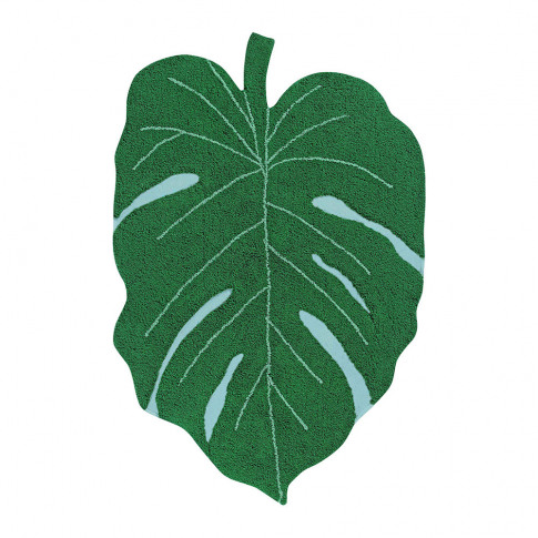 Lorena Canals - Monstera Leaf Washable Rug - Green - 120x180cm