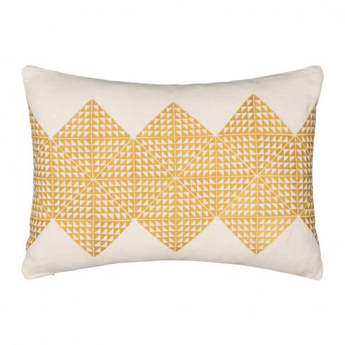 Niki Jones - Geotile Cushion - 40x60cm - Chartreuse ...