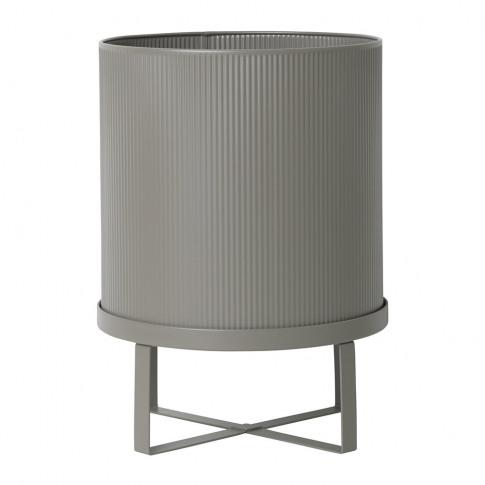 Ferm Living - Bau Plant Pot - Warm Grey - Large