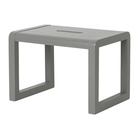 Ferm Living - Little Architect Wooden Stool - Grey