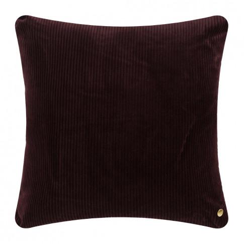 Ferm Living - Corduroy Cushion - 45x45cm - Burgundy