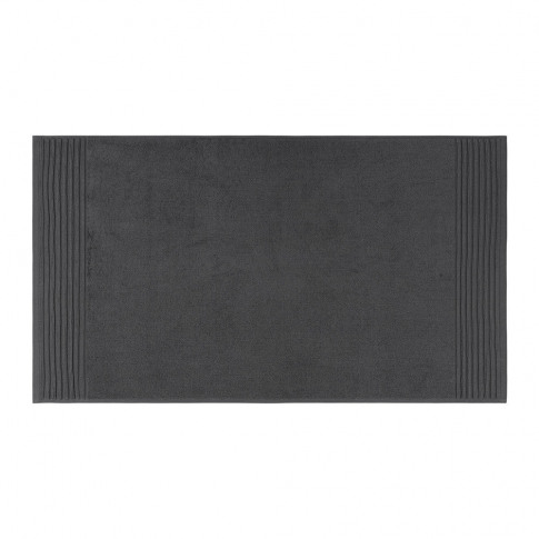 A By Amara - Cotton Bath Mat - Charcoal