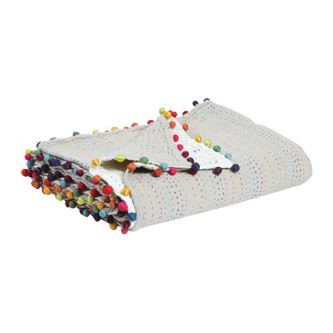 Vivaraise - Gastounet Throw - 180x180cm - Multicoloured
