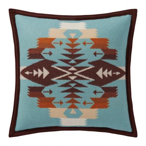 Pendleton - Tucson Feltbound Reversible Cushion - Aqua