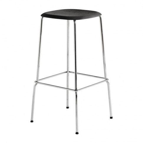 HAY - Soft Edge 30 Steel Bar Stool - High