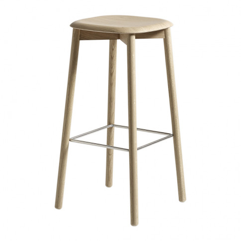 Hay - Soft Edge 32 Oak Stool - High