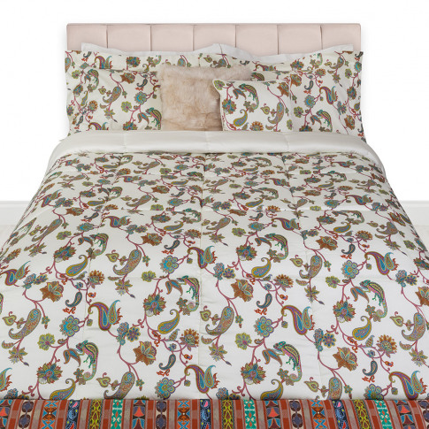 Etro - Sheridan Quilted Bedspread - Ivory