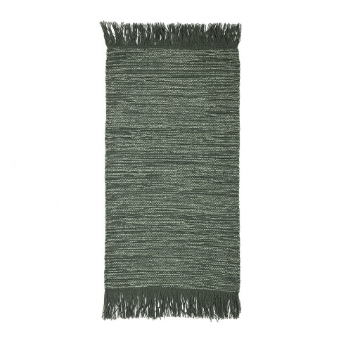 Bloomingville - Tassel Edged Cotton Rug - 120x60cm -...