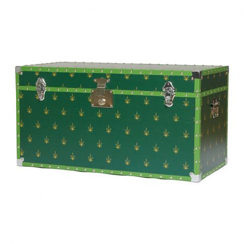 Casacarta - Studded Storage Trunk/Coffee Table - Leaf