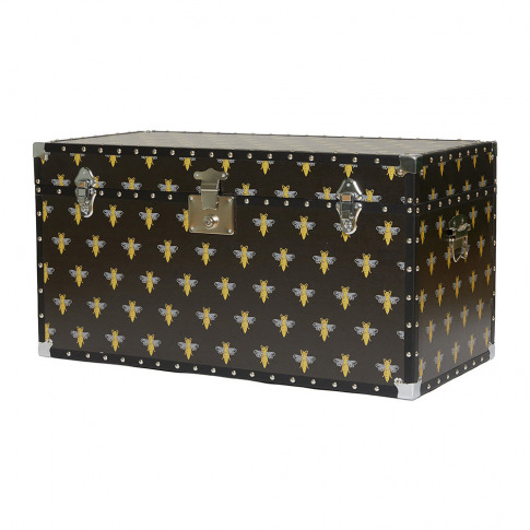 Casacarta - Studded Storage Trunk/Coffee Table - Bee