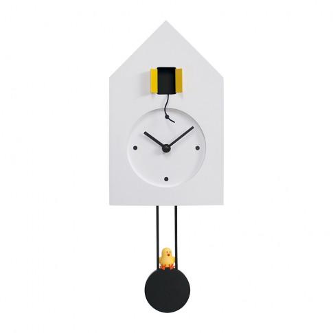 Progetti - Freebird Wall Clock - White