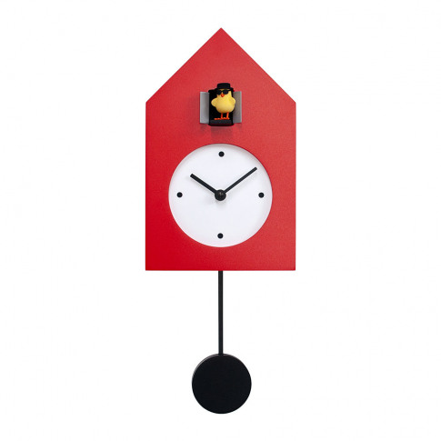 Progetti - Freebird Badass Wall Clock - Red