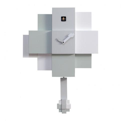 Progetti - Choco Wall Clock - White & Grey