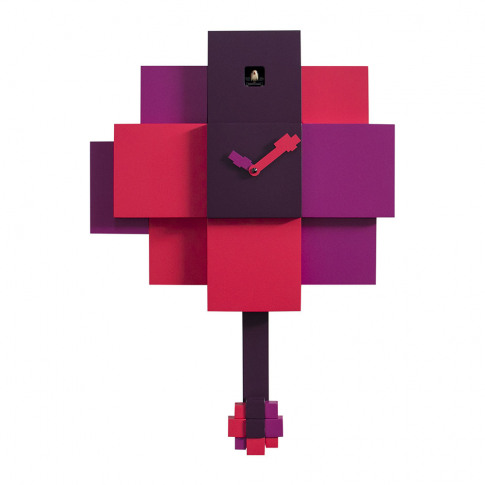 Progetti - Choco Wall Clock - Purple