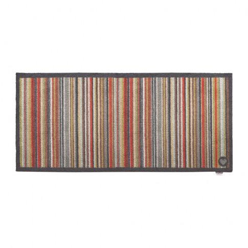 Hug Rug - Stripe Washable Recycled Door Mat - Multi - 65x150cm
