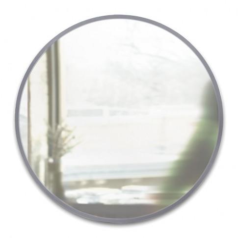 Umbra - Hub Round Wall Mirror - 94cm - Grey