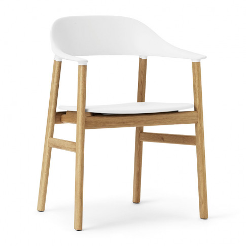 Normann Copenhagen - Herit Oak Armchair - White
