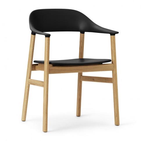 Normann Copenhagen - Herit Oak Armchair - Black