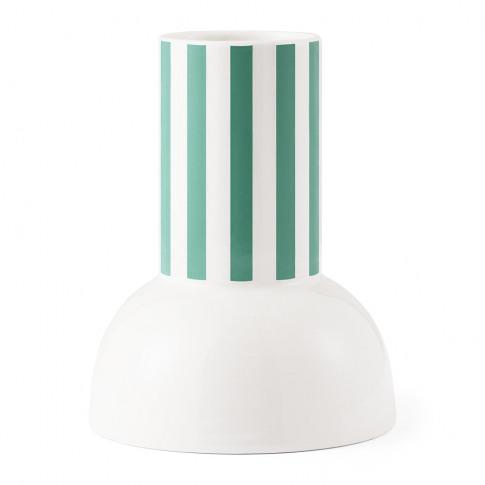 Normann Copenhagen - Funfair Vase - 18cm - Jade Green
