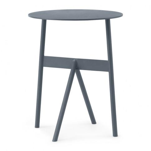 Normann Copenhagen - Stock Side Table - Steel Blue