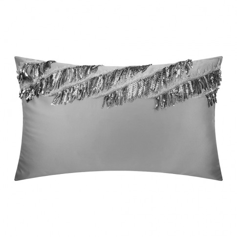 Kylie Minogue at Home - Eliza Pillowcase - Pewter - ...