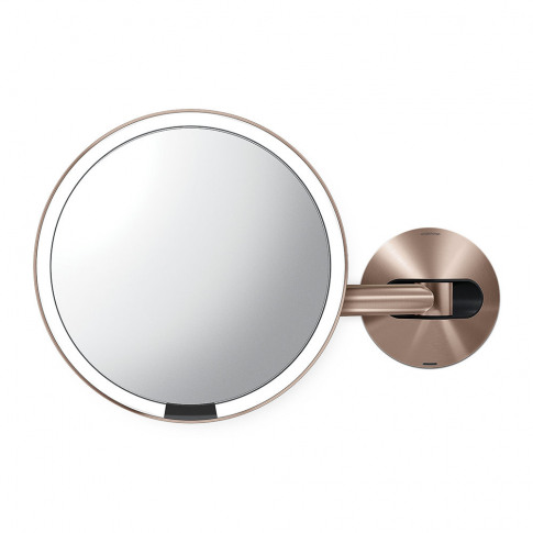 Simplehuman - Rechargeable Sensor Wall Mirror - Rose...