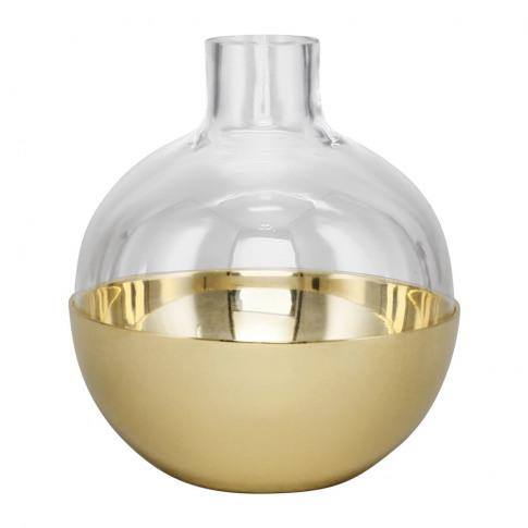 Skultuna - Pomme Vase/Candle Holder - Brass