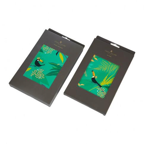 Sara Miller - Tea Towel And Oven Mitt Set - Toucan