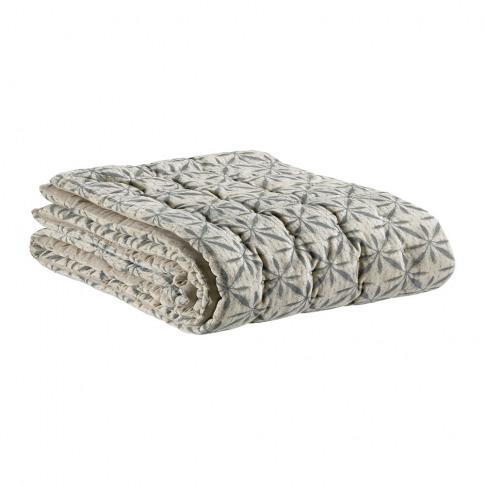 Vivaraise - Jade Flower Bedspread - Chalk