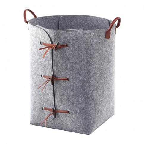 Aquanova - Resa Laundry Basket - Grey