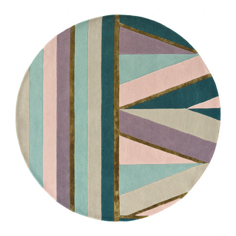Ted Baker - Sahara Round Rug - 150cm - Pink