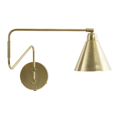 House Doctor - Game Wall Lamp - Brass/White