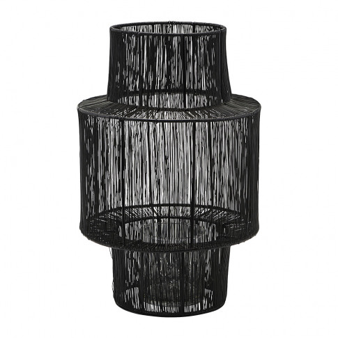 House Doctor - Tabia Lantern - Black - 35cm