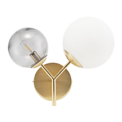 House Doctor - Twice Wall Lamp - Brass