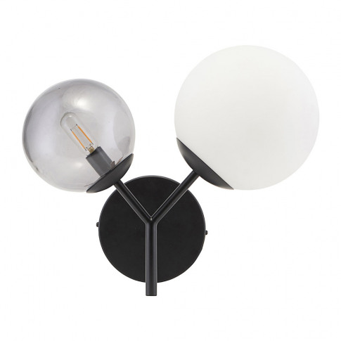 House Doctor - Twice Wall Lamp - Black