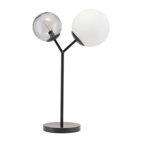 House Doctor - Twice Table Lamp - Black