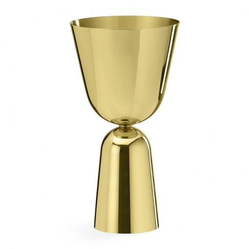 Ghidini 1961 - Flirt Tall Vase - Brass